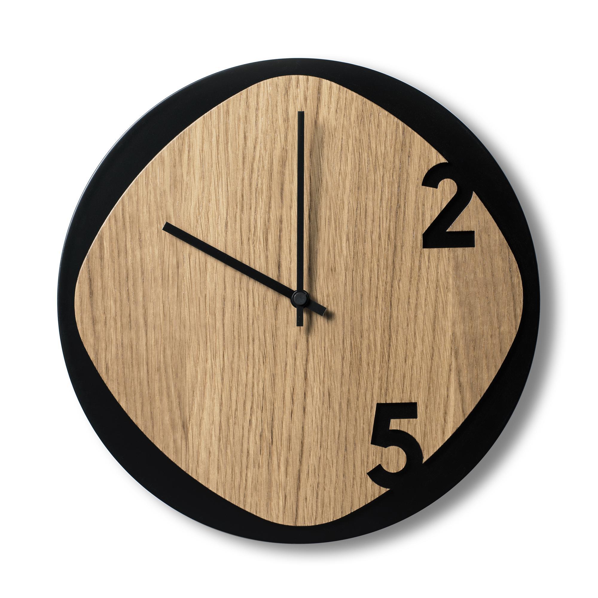 Clock25 - Holzwanduhr