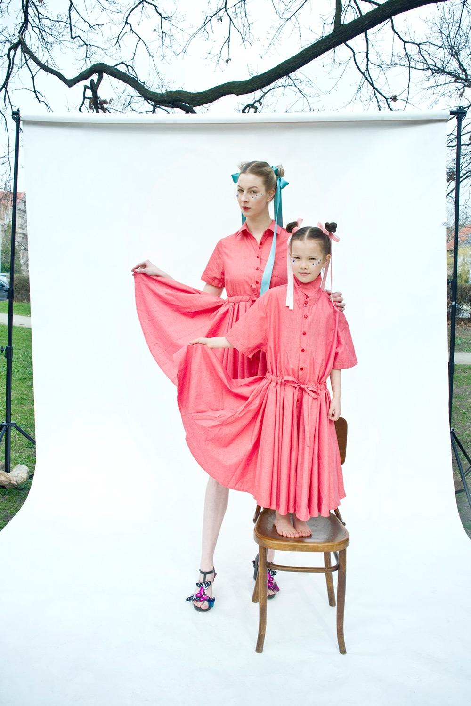 Bricky-Shirt-Kleid