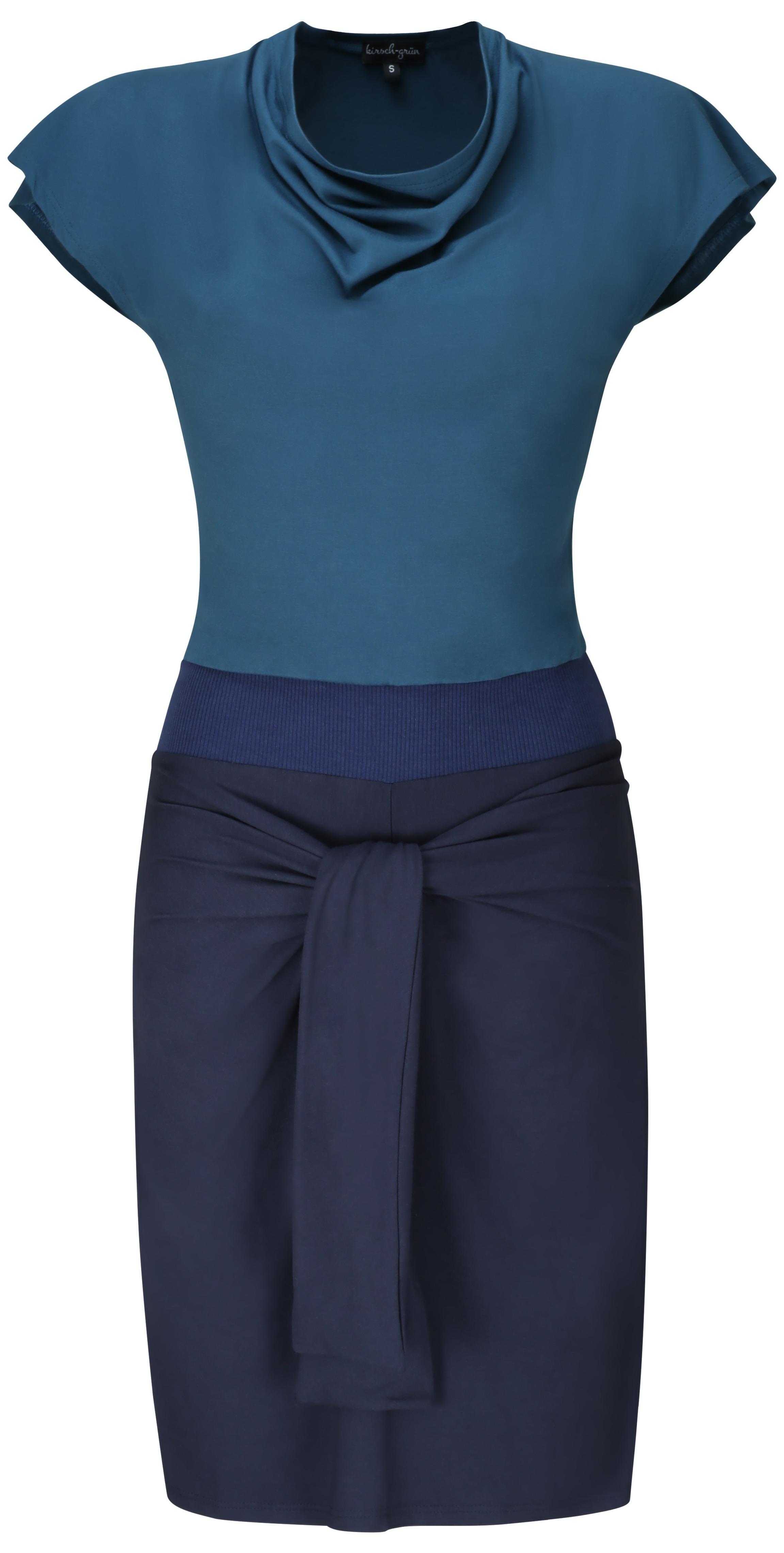 Kleid Nele - kirsch-grün