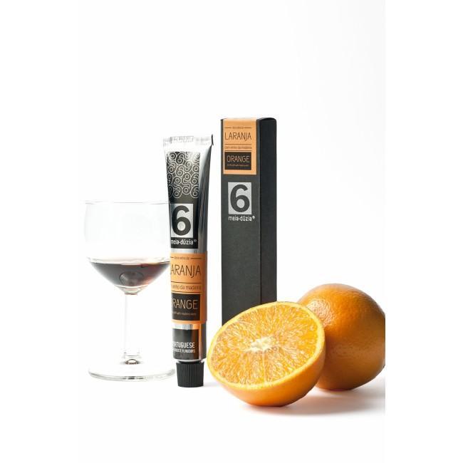 Meia Dúzia Marmelade - Orange mit Madeira Wein,...