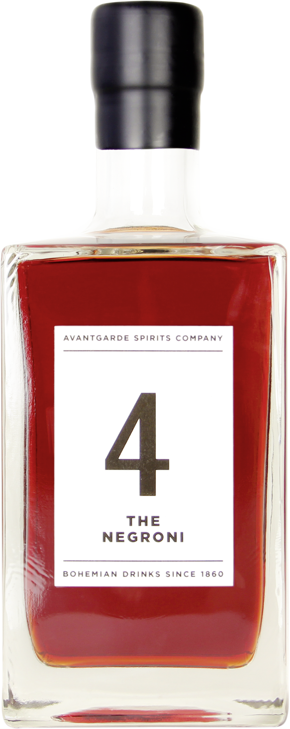 AVANTGARDE SPIRITS COMPANY - 4 The Negroni