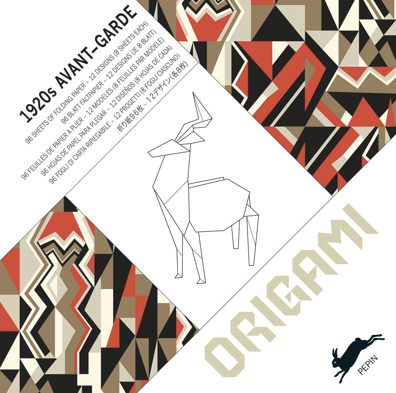 Origami Buch, 1920 Avantgarde