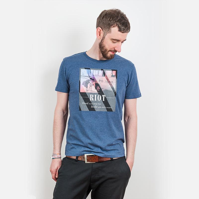 icificis – Riot - Organic Cotton T-Shirt