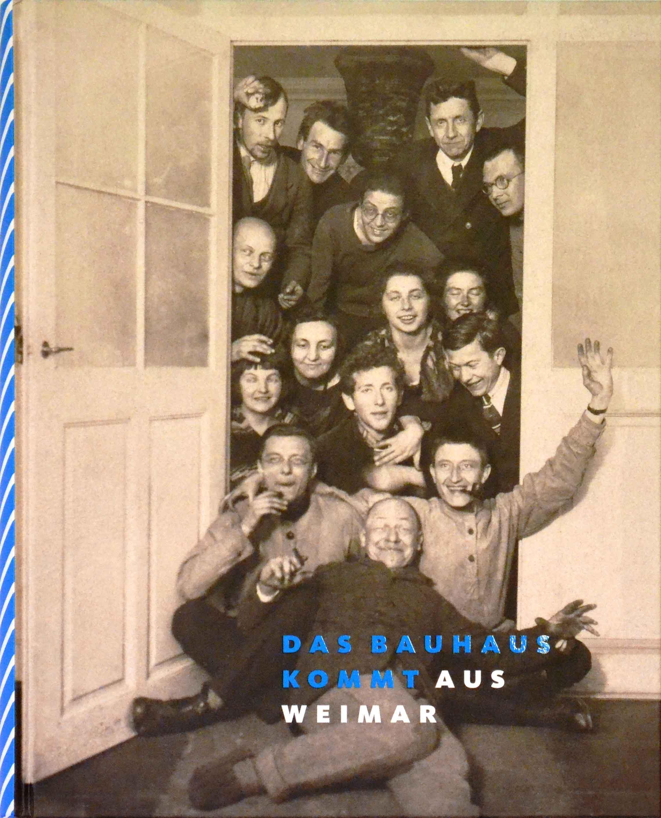 Das Bauhaus kommt aus Weimar, Katalog