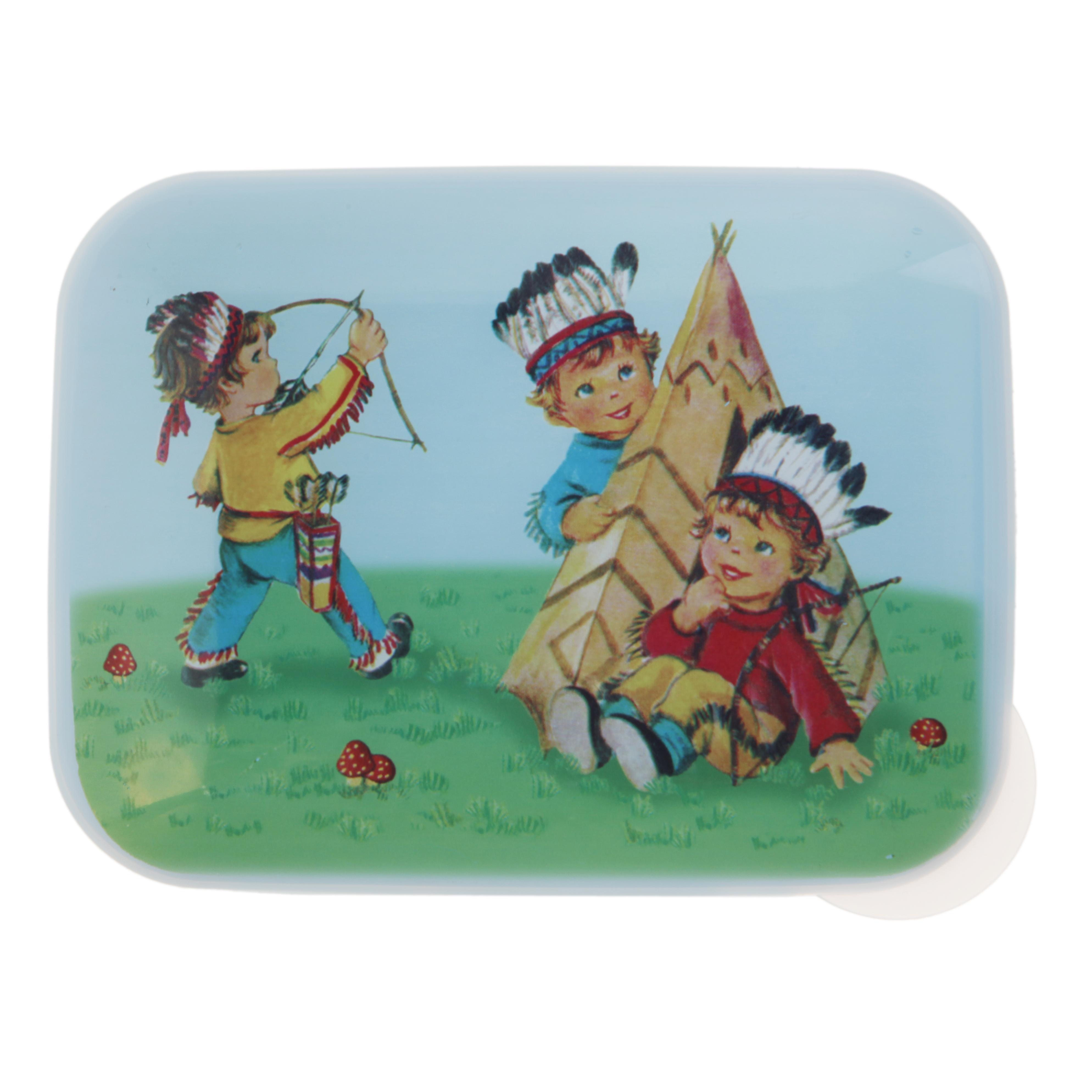 *Cowboy Indianer* Dose Butterbrotdose Sass & Belle