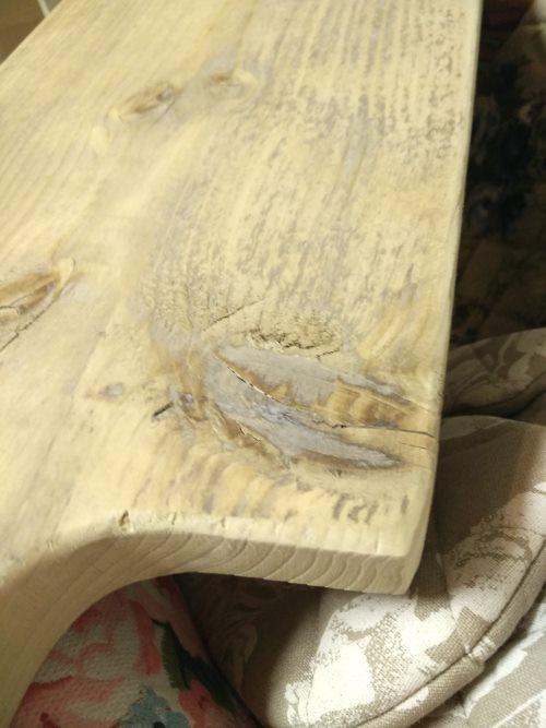 Tapas Brett Griff Holz rustikal