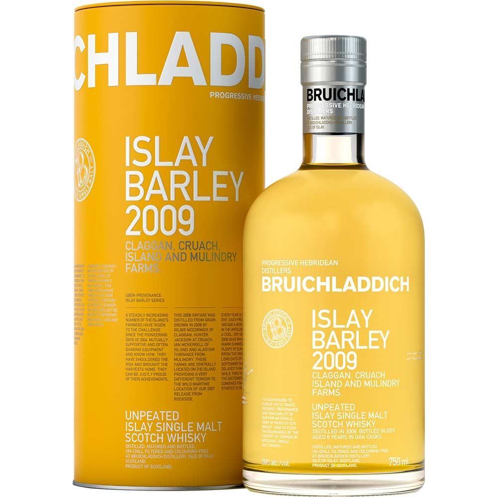 Bruichladdich Islay Barley 2009 unpeated Single...