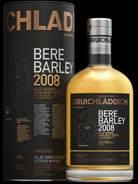 Bruichladdich Bere Barley 2008, Islay Grown: Du...