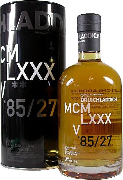 Bruichladdich MCMLXXXV, 27 Aged Years Rare Isla...