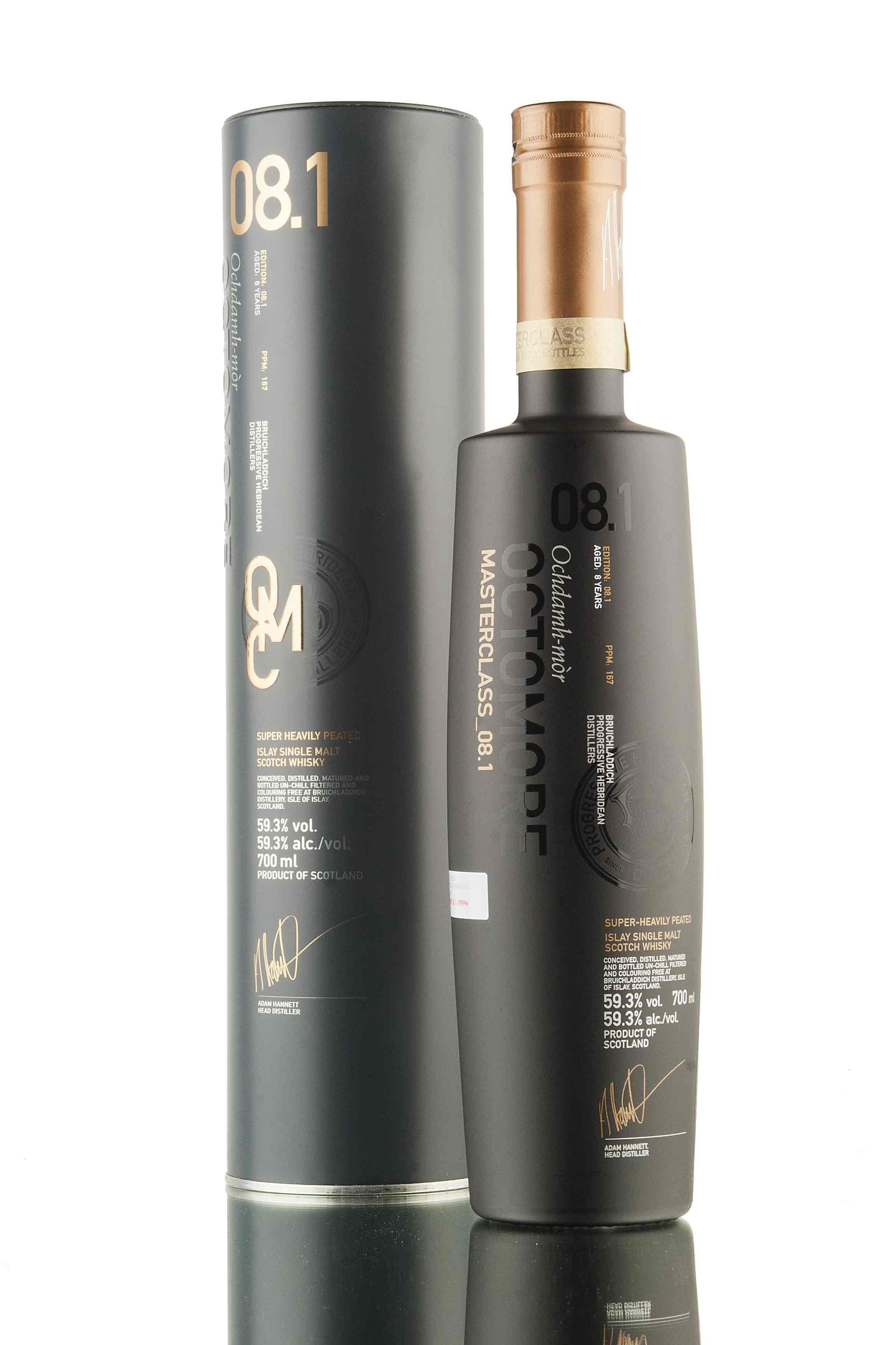 Octomore 08.1 Scottish Barley 8Y - 2008, 70 cl,...