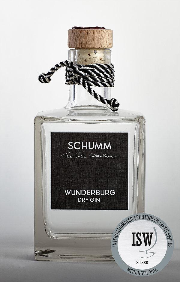 Vorschaubild von SCHUMM Wunderburg Dry Gin, 50cl, 48% Vol.