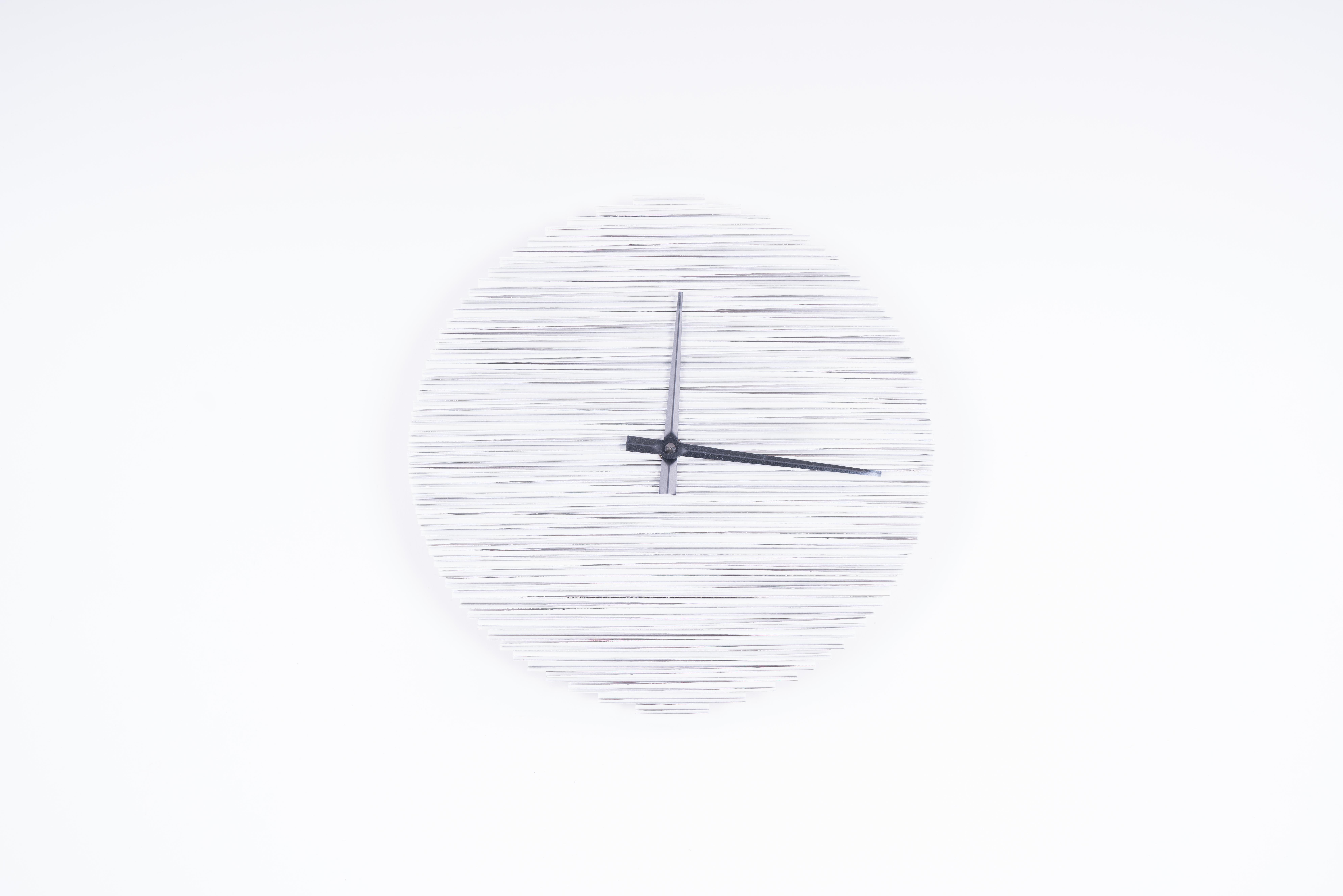 CARDCLOCK Eco Uhr 30 cm, weiß