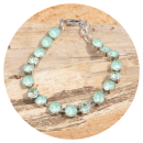 artjany-artjany bracelet mint green mix-31