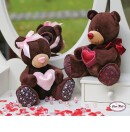 -cute bear girl with Pink Ribbon-31