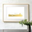 44spaces-Artprint Bremen in gold-3