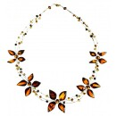 BalticBuy-Cognac and lemon-colored necklace-31