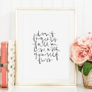 Tales by Jen-Tales by Jen Art Print: Do not forget to fall in love with yourself first-31