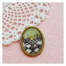 Seven keys designs-Alice-a game of chess vintage style brooch-31