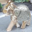 "Scheulen-Elephant ""Alassa"" wood metal-31"