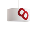 lumbono-Maritime ceiling lamp home port 60cm sail with textile cable-32