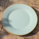 Grün and Form-Green and shape breakfast plate-31