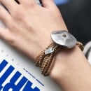 -Giò Sand hand made bracelet with big botton-31