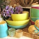 Grün and Form-Green and shape ceramic bowls-34