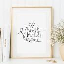 Tales by Jen-Tales by Jen Art Print: Home sweet home-31