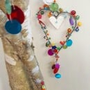 "Noi home and fahion-Sparkling Wire Deco ""Heart""-3"