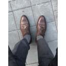 Sockinger Sockenmanufaktur-SOCKINGER BUSINESS long SOCK in gray-34