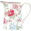 "GreenGate-Jug Jug ""Donna"" White GreenGate-3"