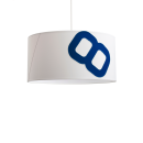 lumbono-Maritime ceiling lamp home port 60cm sail with textile cable-33