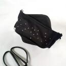 44spaces-Black design mask with many rhinestones Community mask glitter dots-31