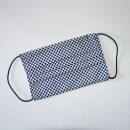 Eva Brachten Modedesign-Mouth nose mask white with blue dots-31