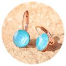 artjany-Artjany earrings azure blue rose gold-3