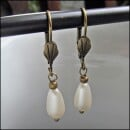 -Bronze Pearl Earrings-31