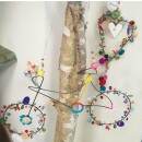 """Noi home and fahion-Sparking wire decoration """"bicycle""""-3"""