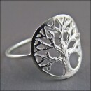 -925 silver ring with tree of life motif-32