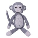 Sindibaba-Cuddly monkey grey-30