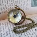 -Sphere Pretty mechanical ball clock on the chain-3