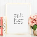 Tales by Jen-Tales by Jen Art Print: Together is our favorite place to be-31