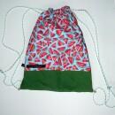 Eva Brachten Modedesign-Gym bag with melon pattern-31