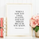 Tales by Jen-Tales by Jen Art Print: When I saw you I fell in love and you smiled because you knew-31
