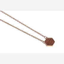 -BeWooden Rea necklace hexagon-21