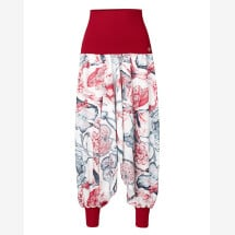 -Harem pants in a floral design-21
