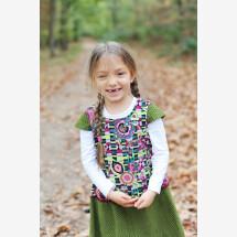 -Girl dress size 110/116-21