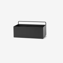 -Ferm living Wall Box rectangle black-21