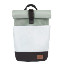 -UNISEX Waterproof Mini Rolltop Backpack with Laptop Bag 10L Mint by STACHOWICZ-21