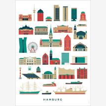 -Hamburg Landmarks Poster-21