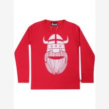 -Danefae Red Basic Shirt with Wiking Erik-21